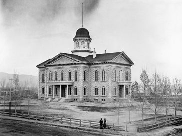 Nevada State Capitol, 1875