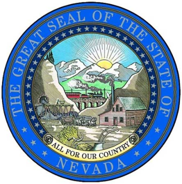 Nevada State Seal (Photo Credit - Akkakk via public domain)
